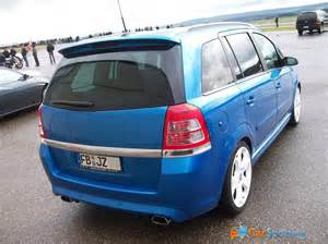 Opel Zafira 2 0 View Of Opel Zafira 2 0 Opc Photos Features And
