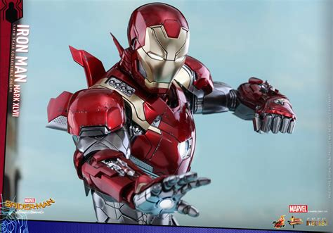 hot toys spider man homecoming iron man mk xlvii hot toys iron man mk 47 action figure the awesomer