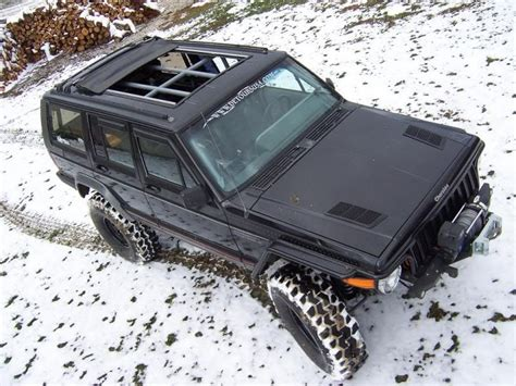 jeep cherokee xj sunroof open air jeep cherokee auto eye candy pinterest
