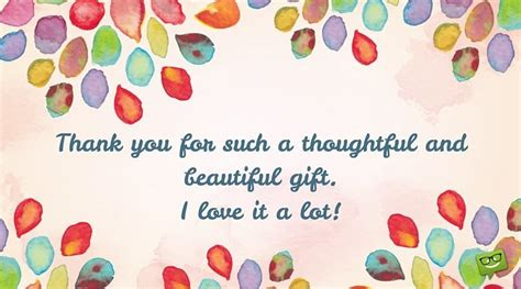 beautiful gifts for thank you messages on cards that express gratitude