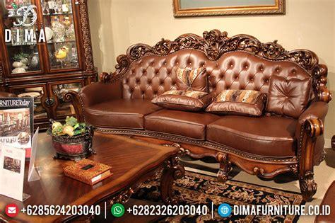 Sofa Jepara Di Medan kursi sofa tamu jepara set mewah terbaru klasik royals df