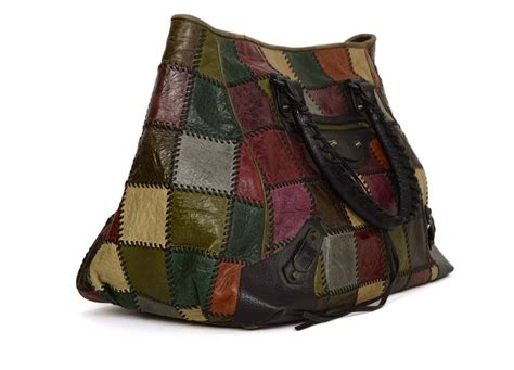 Balenciaga Patchwork - balenciaga multi color leather patchwork quot arena quot bag bhw