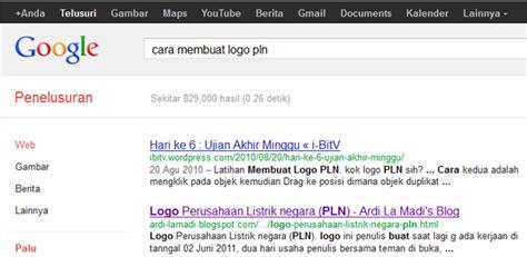 membuat blog rame pengunjung logo pln dan cara membuatnya ardi la madi s blog