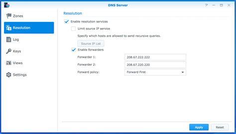 forwarding server ip address using synology as a proxy