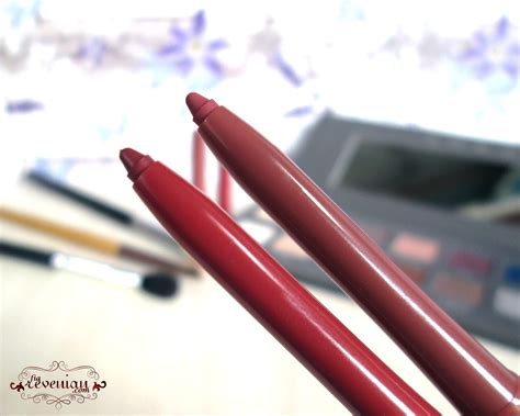 Makeup Silkygirl Lengkap review silky wearing lip liner and mauve