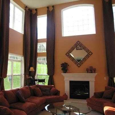 curtains for two windows together two story drapery ideas drapery solutions for your