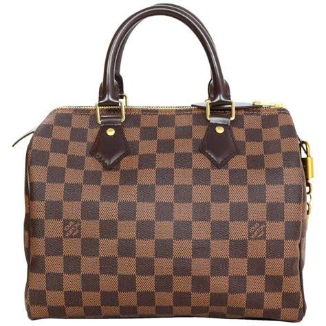 Louis Vuitton Naviglio Damier Ebene Look A Like Premium Quality louis vuitton like new brown damier ebene speedy 25 bag for sale at 1stdibs
