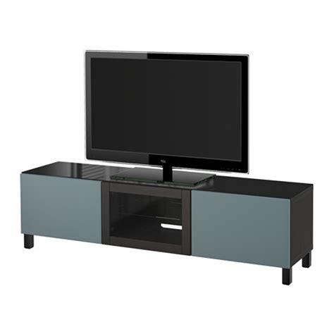 besta tv unit best 197 tv unit with doors black brown valviken gray