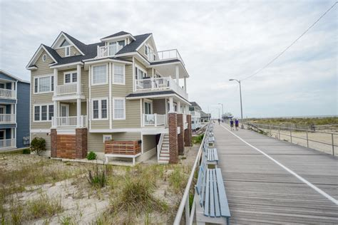 awesome beach front rental  street  ocean city nj