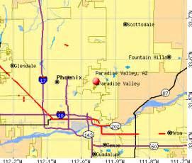 paradise valley arizona az profile population maps