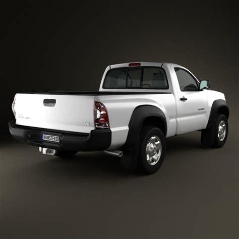 Toyota Tacoma Single Cab Toyota Tacoma Regular Cab 2011 By Humster3d 3docean