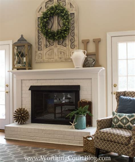 fireplace decorating ideas 25 best ideas about fireplace mantel decorations on