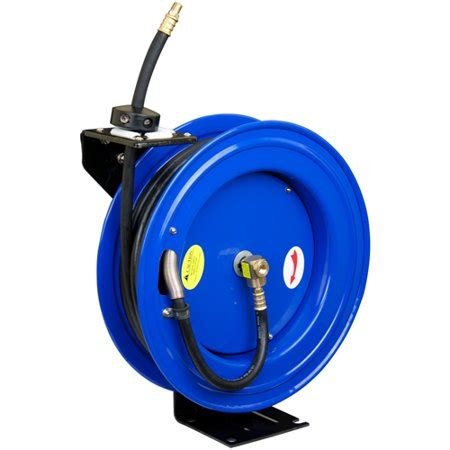 cyclone pneumatic cp3688 3 8 quot x 50 300 psi retractable air compressor hose reel walmart