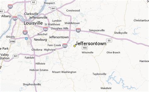 jeffersontown kentucky map jeffersontown weather station record historical weather
