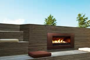 escea outdoor gas florentine bronze fireplace ferro