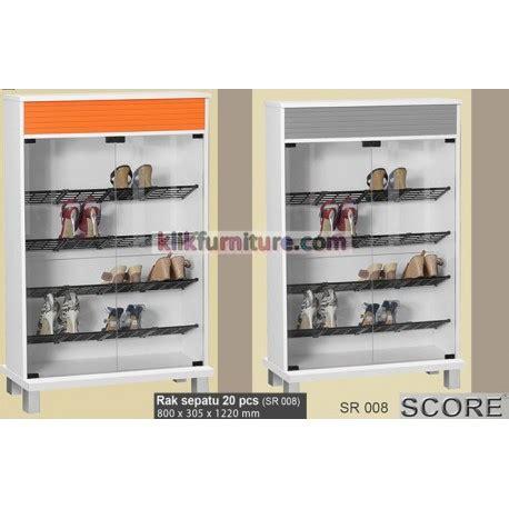 sr 008 lemari sepatu score diskon sale