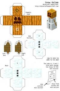 Minecraft Papercraft Snow - 36 best images about minecraft paper crafts on