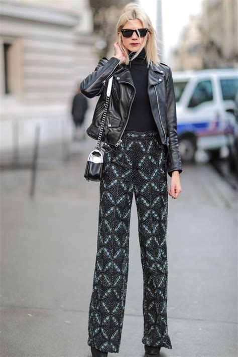 outfit ideas fresh ways  wear black  spring glamour