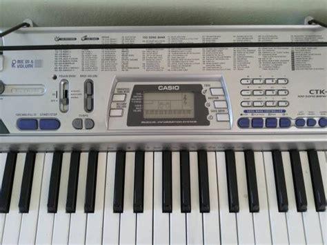 Baru Keyboard Casio Ctk 496 casio ctk 496 electronic keyboard for sale