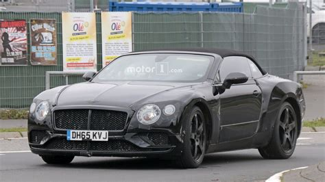 2018 Bentley Gtc 2018 bentley continental gt gtc stalked at the
