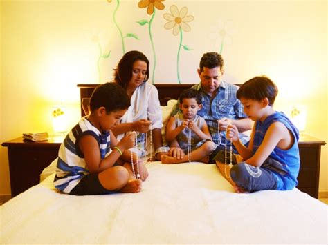 for the family the importance of prayer of the family rosary