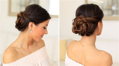 Wedding Hair Buns Images by 2 Minute Bun Hair Tutorial Luxy Hair
