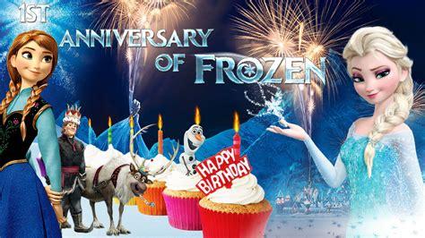 wallpaper frozen birthday frozen 1920x1080 happy birthday frozen by cographic on