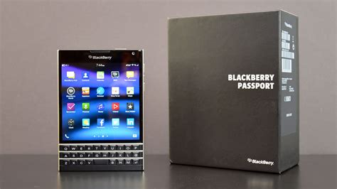 Blackberry Passport Black blackberry passport unboxing review