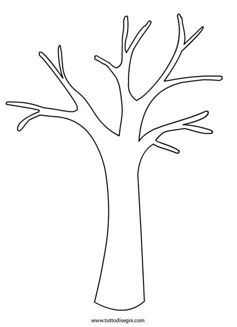 Tree Trunk Coloring Page Coloring Pages Tree Branch Template