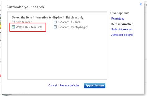 ebay user search how to customise your ebay search results for buyers