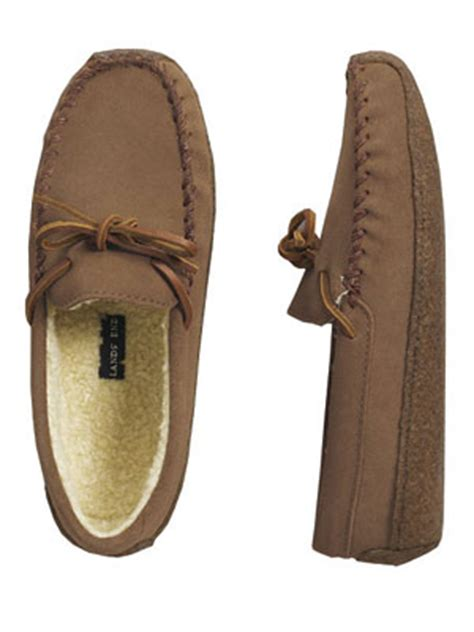 lands end womens slippers lands end suede moccasin s slippers review