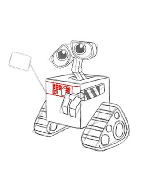 Wall E Sketches by How To Draw Wall E