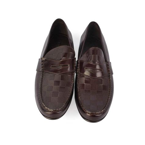 louis vuitton loafer louis vuitton graduation loafers brown s 42 8 new