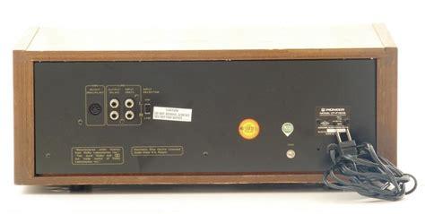 pioneer tv deck pioneer cassette deck model ct f7272