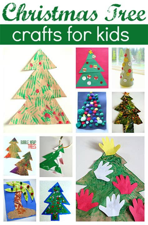 christmas decorations flashcards 11 easy tree crafts for no time for flash cards