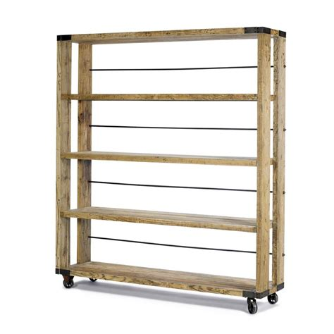 industrial bookcase on wheels products i
