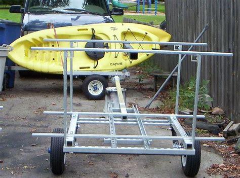 kayak canoe bike jon  peddle boat hauler