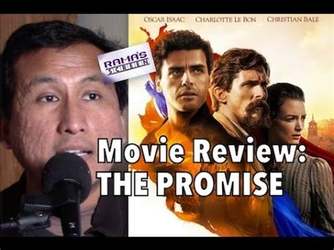 promise film review my review of the promise an important film youtube