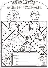 progetto sull alimentazione copertine per quaderni di scuola maestra