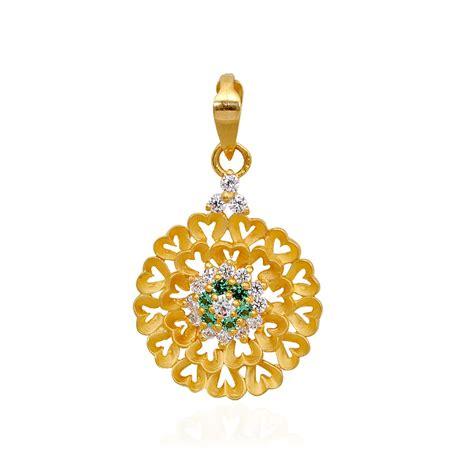 pendants flower hearts gold pendant grt jewellers