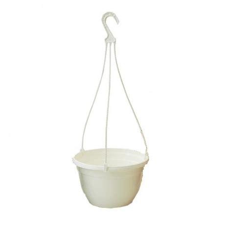 Plastic Hanging Planters Outdoor by 2 X 27cm White Warwick Plastic Hanging Basket Garden