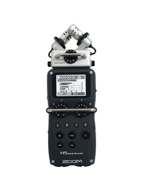 Zoom H5n Handy Recorder With Accessory Pack zoom h5n handy sound recorder hire broadcast lighting