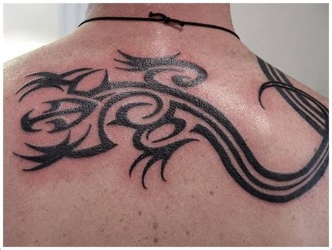 tribal lizard tattoo meaning tribal lizard designs for on back lizard