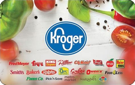 Gift Cards At Kroger List - kroger corporate gift cards