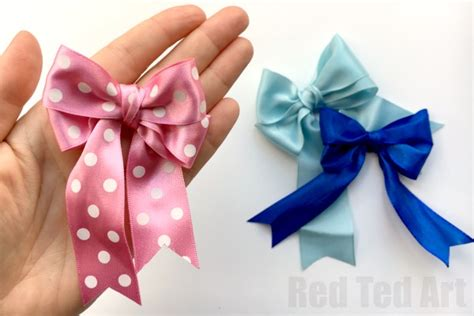 diy equestrian hair bows how to make a perfect bow hair bow diy red ted art s blog