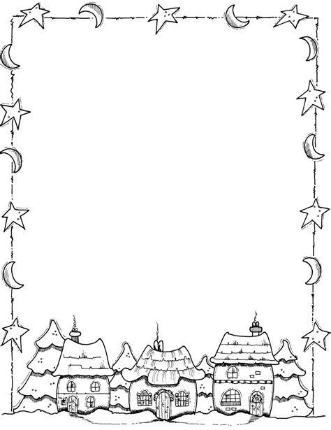 christmas borders coloring page christmas page border frames borders pinterest album
