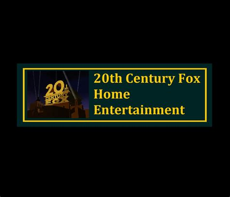 20th century fox home entertainment logo 1995 by