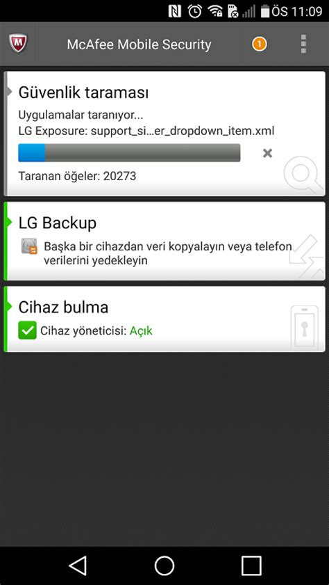 mobile mcafee security akıllı telefon g 252 venlik programı mcafee mobile security