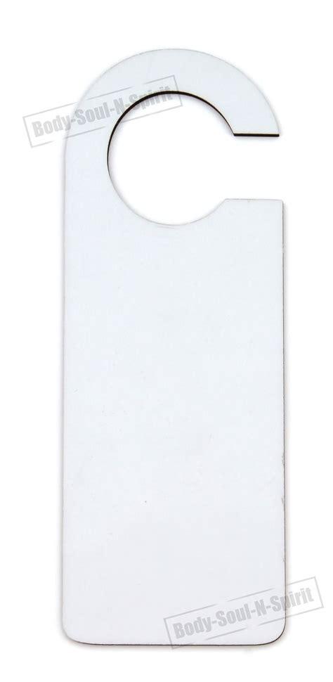 sublimation door hanger sign mdf blank wooden dye heat