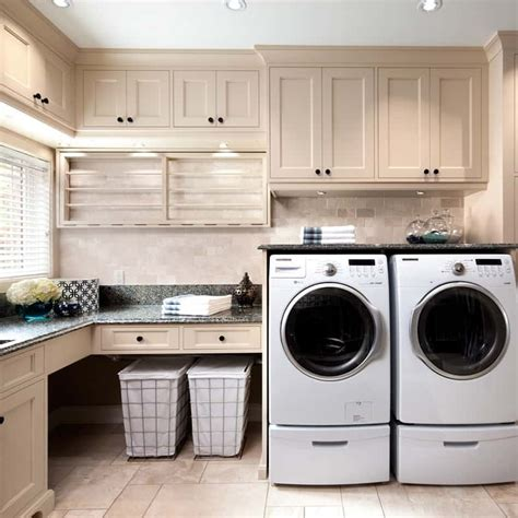 laundry room storage ideas brilliant ways to organize and add storage to laundry rooms